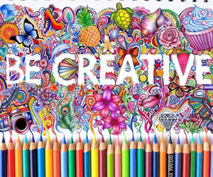 creative, art, and drawing image