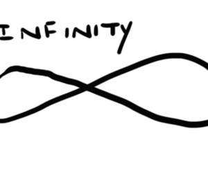 infinity and text image