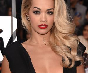 beautiful, glamorous, and blonde hair image