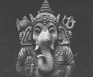 elephant, Ganesha, and india image