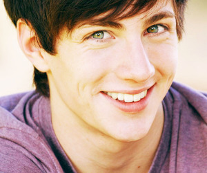 aaron johnson, boys, and eyes image