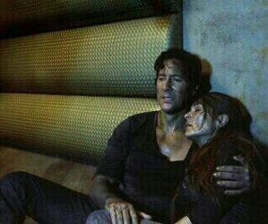 the 100, kane, and abby griffin image