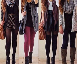 teen fashion, back to school, and high school outfits image