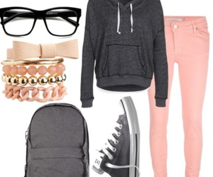 fashion, outfits, and teens image