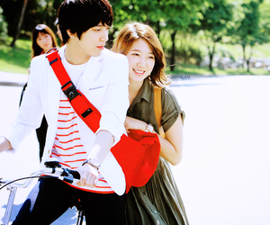 heartstrings, park shin hye, and jung yong hwa image