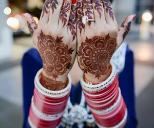 henna, design, and indian image