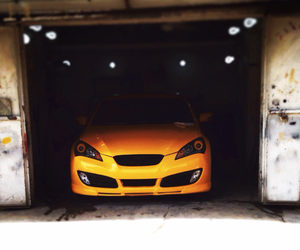 yellow and genesis coupe image