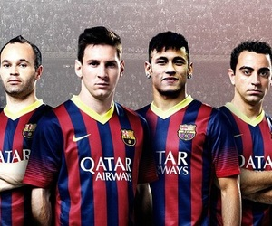 messi, neymar, and iniesta image