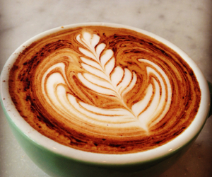 cafe, coffee, and latteart image