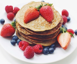 food, healthy, and berries image