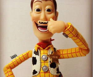 woody, toy story, and mustache image