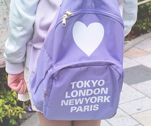 purple, pastel, and tokyo image