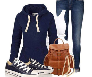 :), navy, and fashion image