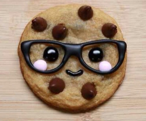 cookie, cute, and glasses image