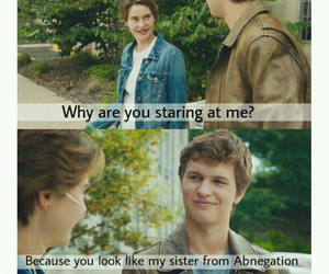 ansel, divergent, and augustus waters image