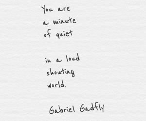 quotes, world, and quiet image