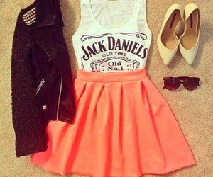 cool, girly, and jack daniels image