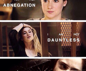 divergent, tris, and dauntless image