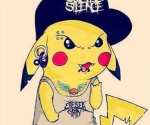 pikachu, tattoo, and piercing image