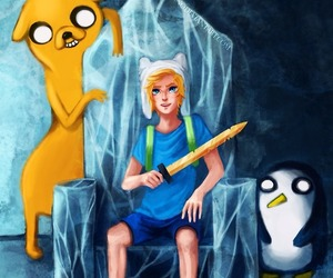 bmo, cool, and finn image