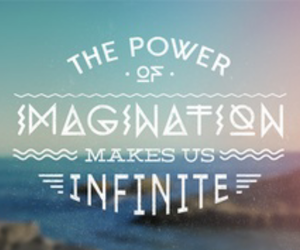 imagination, infinite, and quote image