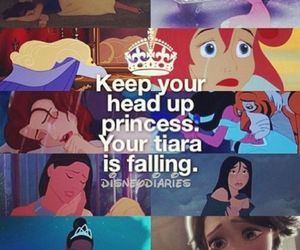 princess, disney, and tiara image