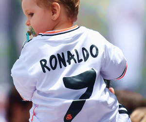 cute, real madrid, and baby image