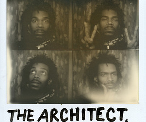 the architect, flatbush zombies, and erick zombie image