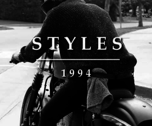 bike and Harry Styles image