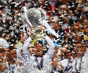 champion, real madrid, and Ronaldo image