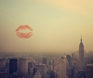 kiss, city, and new york image