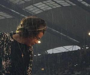 rain, kissintherain, and harry image