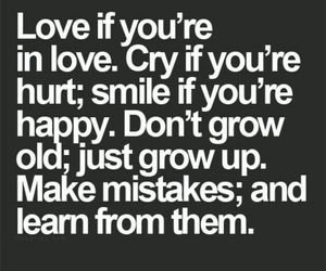 love, cry, and smile image