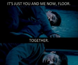 harry potter and floor image