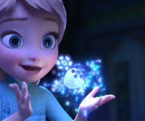 crazy girl, frozen, and let it go image
