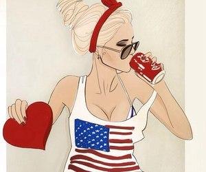 america, beauty, and feelings image