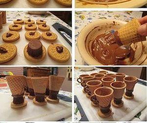 chocolate, dessert, and diy image