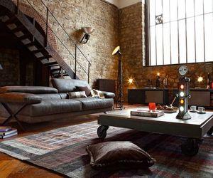 loft, home, and interior image