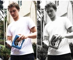 tfios and ansel elgort image