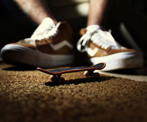 shoes, skate, and skateboard image
