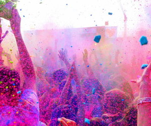 party, people, and colors image