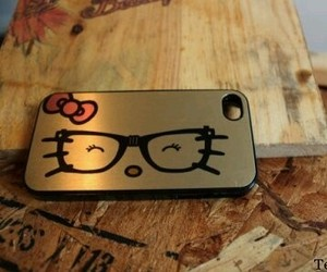 hello kitty, iphone, and phone case image