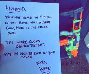wife, husband, and couple image