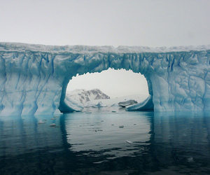 ice, photography, and water image