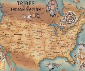 native american, tribe, and indian image
