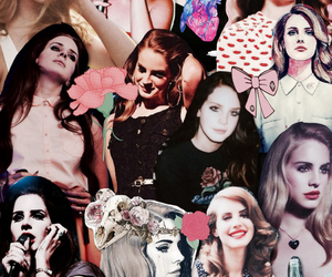 lana del rey, background, and indie image
