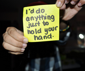 quote, text, and hand image