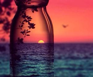 sunset, sun, and summer image