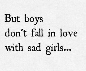 boy, love, and sad image