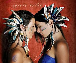 feather, tribal, and ear cuff image